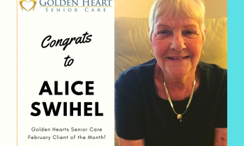 Golden Heart Client Of The Month Alice Swihel